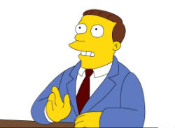 Lionel Hutz The Simpsons character