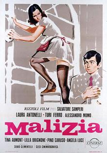 Laura antonelli & alessandro momo malizia; malice; malicious (1973.
