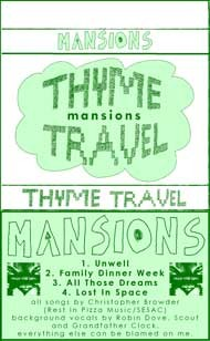 <i>Thyme Travel</i> 2009 EP by Mansions