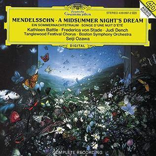 <i>A Midsummer Nights Dream</i> (Seiji Ozawa recording) 1994 studio album by Seiji Ozawa