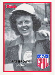 Patricia Brown All-American Girls Professional Baseball League player