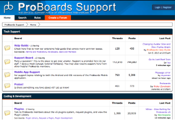 Too Much Information >> ProBoards - Wikipedia