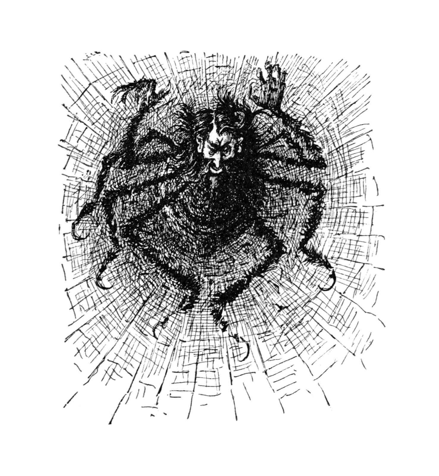 File:Svengali as a spider in his web.jpg - Wikipedia