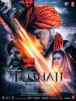 Tanhaji The Unsung Warrior 2020 Hindi 480p WEB-DL 350mb