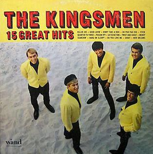 <i>15 Great Hits</i> 1966 studio album by The Kingsmen