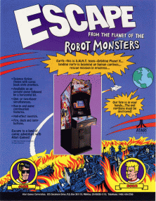 Picture of a game: Escape From The Planet Of The Robot Monsters