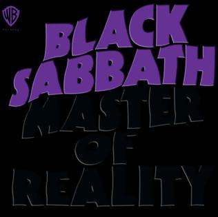 <i>Master of Reality</i> 1971 studio album by Black Sabbath