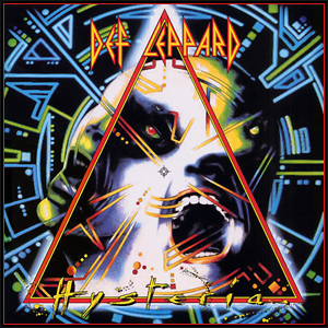 Image result for hysteria album cover