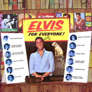 Elvis for Everyone! artwork
