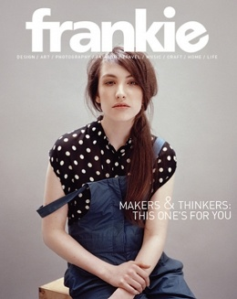 ## FRANKIE MAGAZINE - ISSUE #38 - POSTER INCLUDED - LIKE NEW **Free Postage