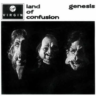 Land of Confusion 1986 single by Genesis (and cover single by Disturbed)