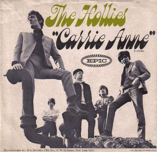 Hollies - Carrie Anne US.jpg