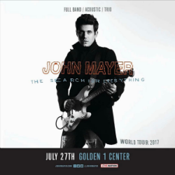 John Mayer World Tour  Setlist