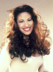 Selena as photographed by Agree shampoo staff in 1995