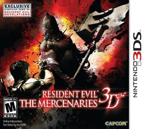 <i>Resident Evil: The Mercenaries 3D</i> video game