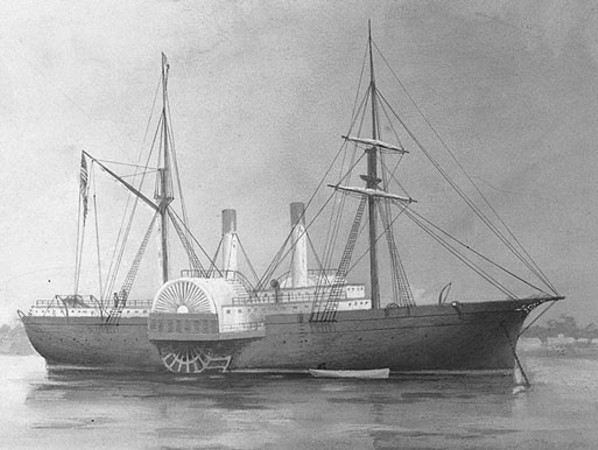 Uss Quaker City 1854 Wikipedia