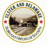 Ulster and Delaware Railroad Historical Society logo.png