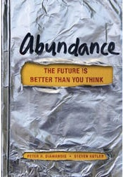 <i>Abundance: The Future Is Better Than You Think</i> book by Peter Diamandis