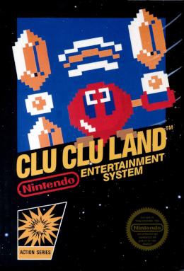 Famicom - Clu Clu Land Box Art