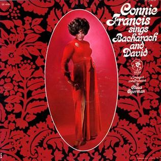 Connie Francis Sings Bacharach & David - Wikipedia