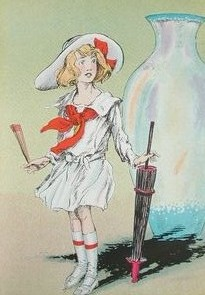 Dorothy, as depicted by John R. Neill, is usua...