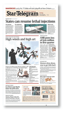 Fort Worth Star-Telegram front page.png