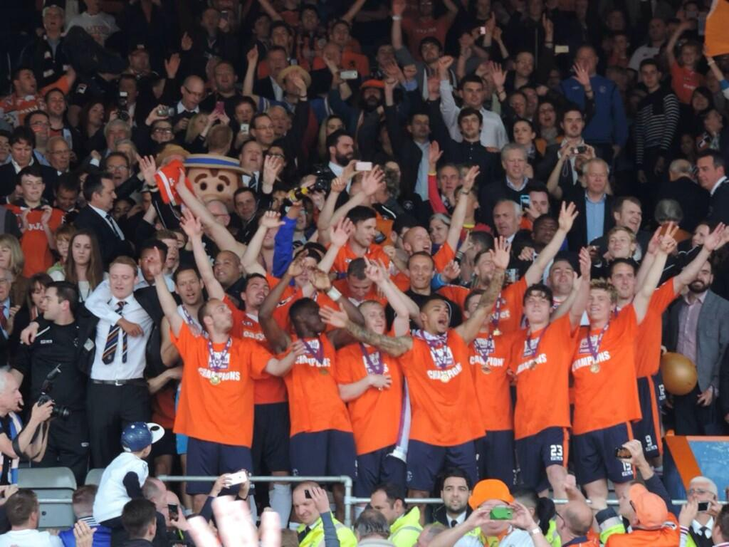 2013 14 luton town f c season wikipedia - Football conference south league table ...