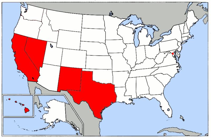 Map Majority Minority Us - Map-of-minorities-in-us