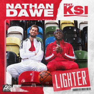 Lighter (Nathan Dawe song) 2020 song by Nathan Dawe featuring KSI