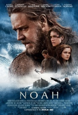 Movie release poster for Noah, courtesy Paramount Pictures