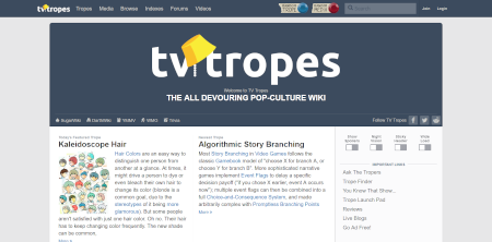 Halloween 2020 Site:Tvtropes.Org TV Tropes   Wikipedia