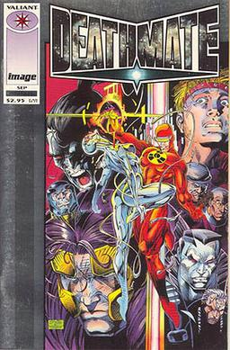 Deathmate Prologue, art by Jim Lee and Bob Layton