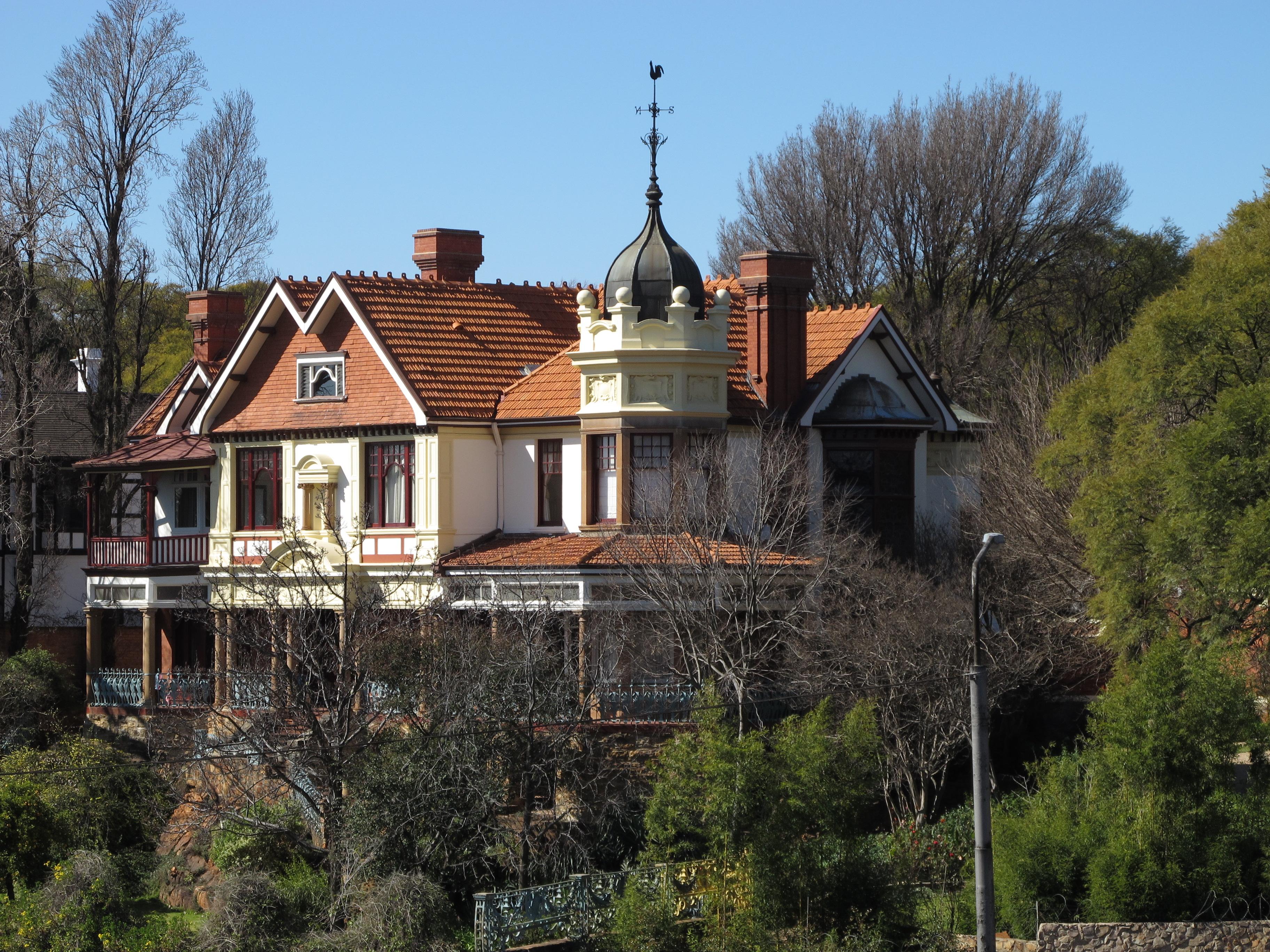 Houghton Mansion Tours
