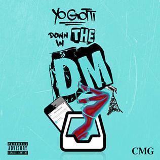 Down in the DM single by Yo Gotti