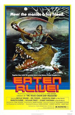 Eaten Alive (1977) movie poster