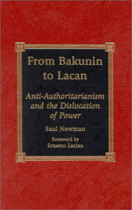 <i>From Bakunin to Lacan</i> book by Saul Newman