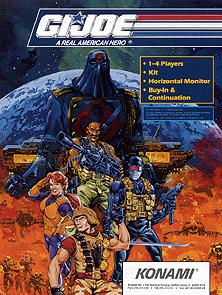 <i>G.I. Joe</i> (arcade game) 1992 arcade video game