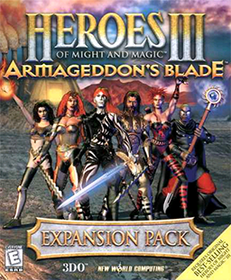 Heroes of Might and Magic III - Armageddon's Blade Coverart.png
