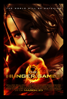 The Hunger Games poster (courtesy of wikipedia)