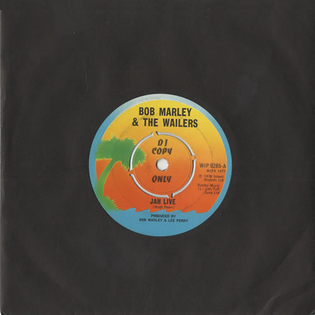 Jah Live 1975 single by The Wailers