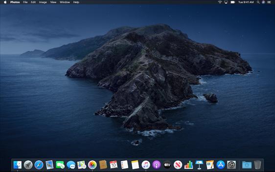 Mac OS X Catalina