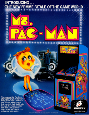 Picture of a game: Ms. Pac-Man