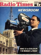 Newsroom launched in 1964 - in 1968 it became the UK's first colour television news programme.