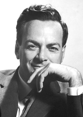 Picture of an author: Richard Feynman