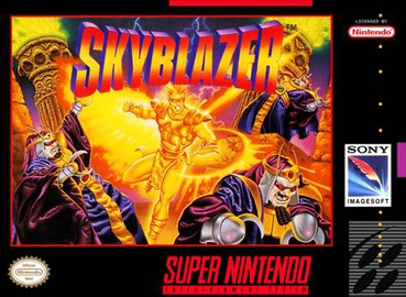 Picture of a game: Skyblazer