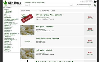 A user selling cookies