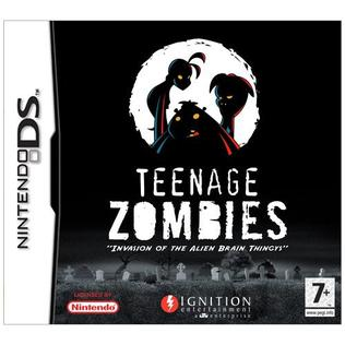 teenage zombies invasion of the alien brain thingys