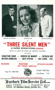 <i>Three Silent Men</i> 1940 film by Thomas Bentley
