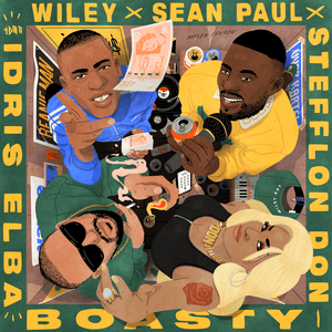 song by Wiley, Stefflon Don and Sean Paul featuring Idris Elba