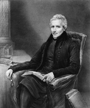 William Otter (1831-36), the first Principal of King's College London Williamotter.jpg